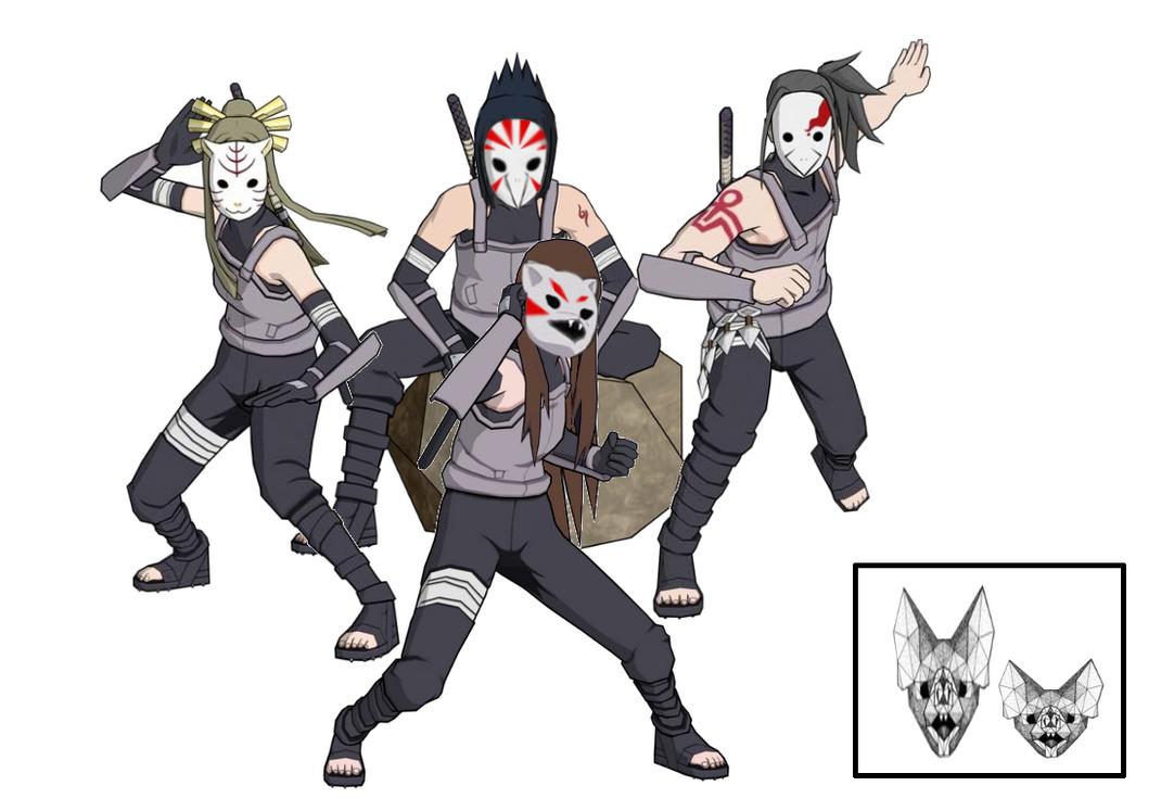 Anbu Team by Silver-Queen