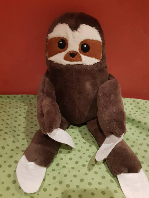 Sloth plush  by Meeth28