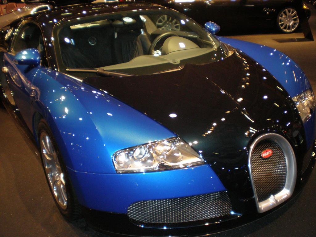 bugatti veyron black blue by collegespirit17 on deviantart. Black Bedroom Furniture Sets. Home Design Ideas