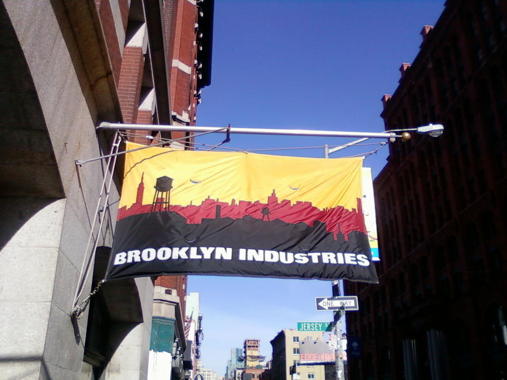 Brooklyn Industries Flag by CollegeSpirit17