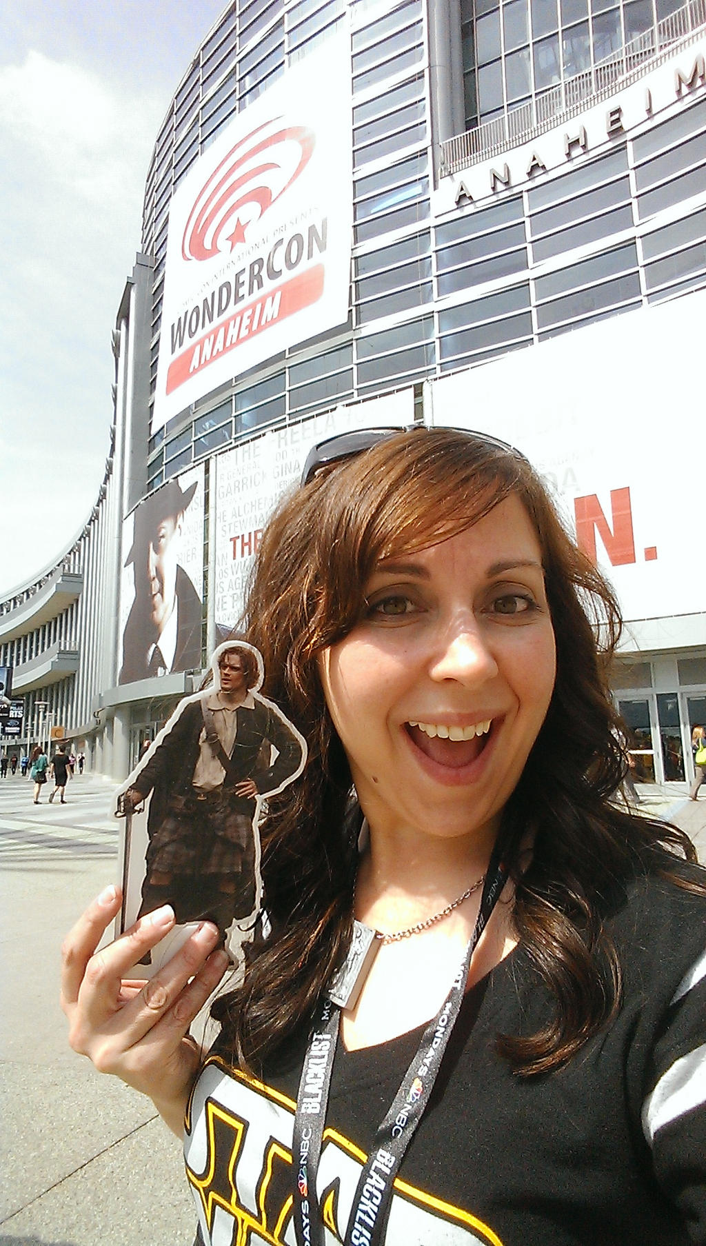#PocketJaime and my humble self at WonderCon 2014 by IreneAdler76