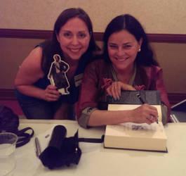 Diana Gabaldon, #PocketJaime and Myself by IreneAdler76