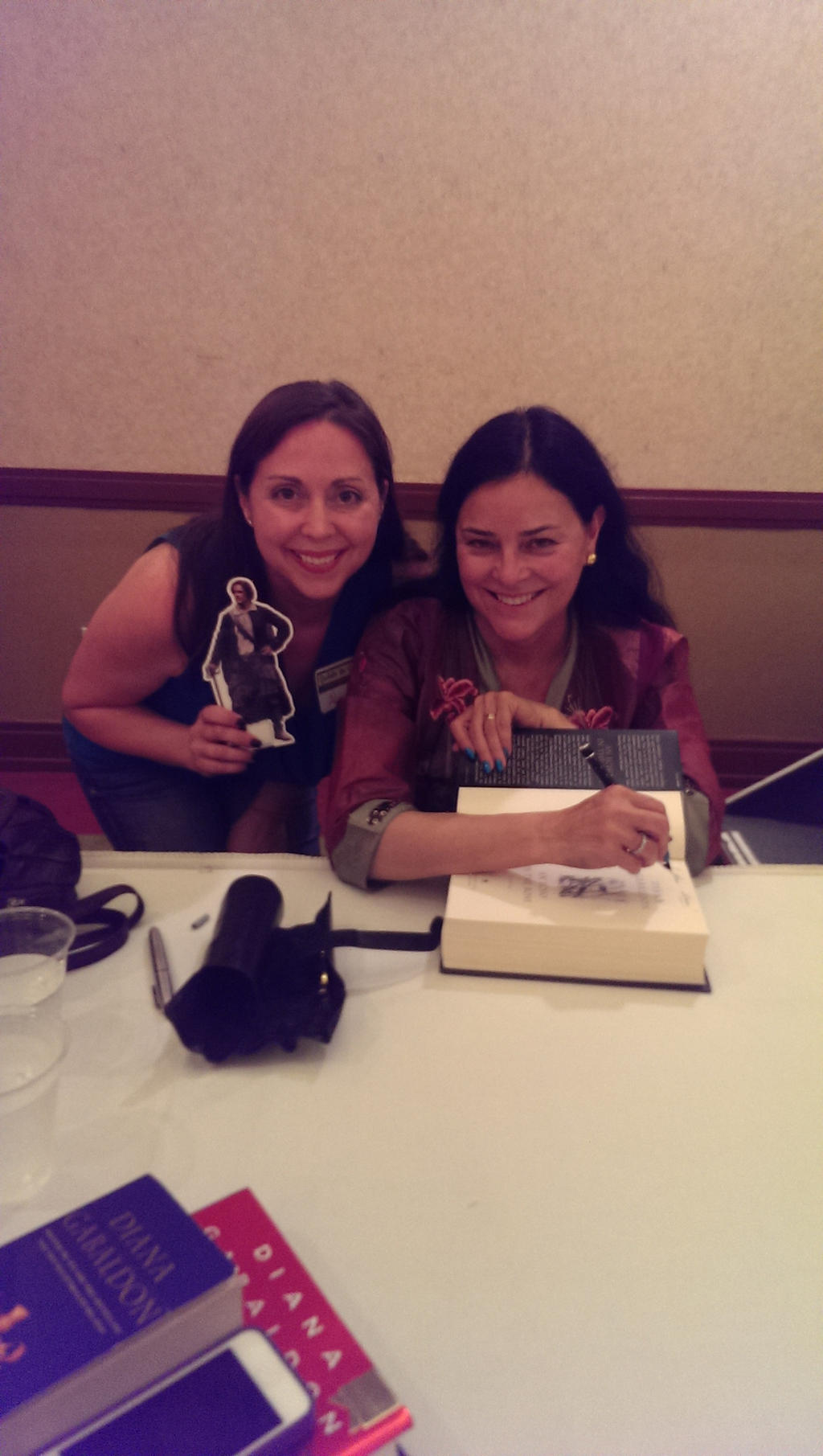 Diana Gabaldon and Myself by IreneAdler76