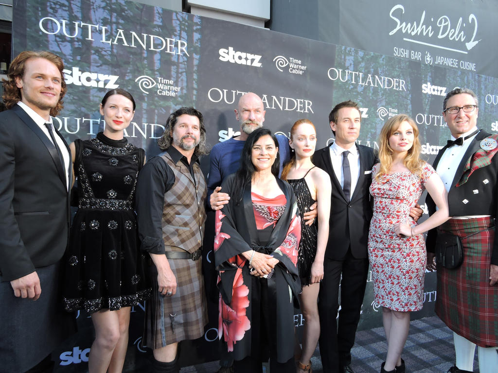 Outlander SDCC Premiere by IreneAdler76