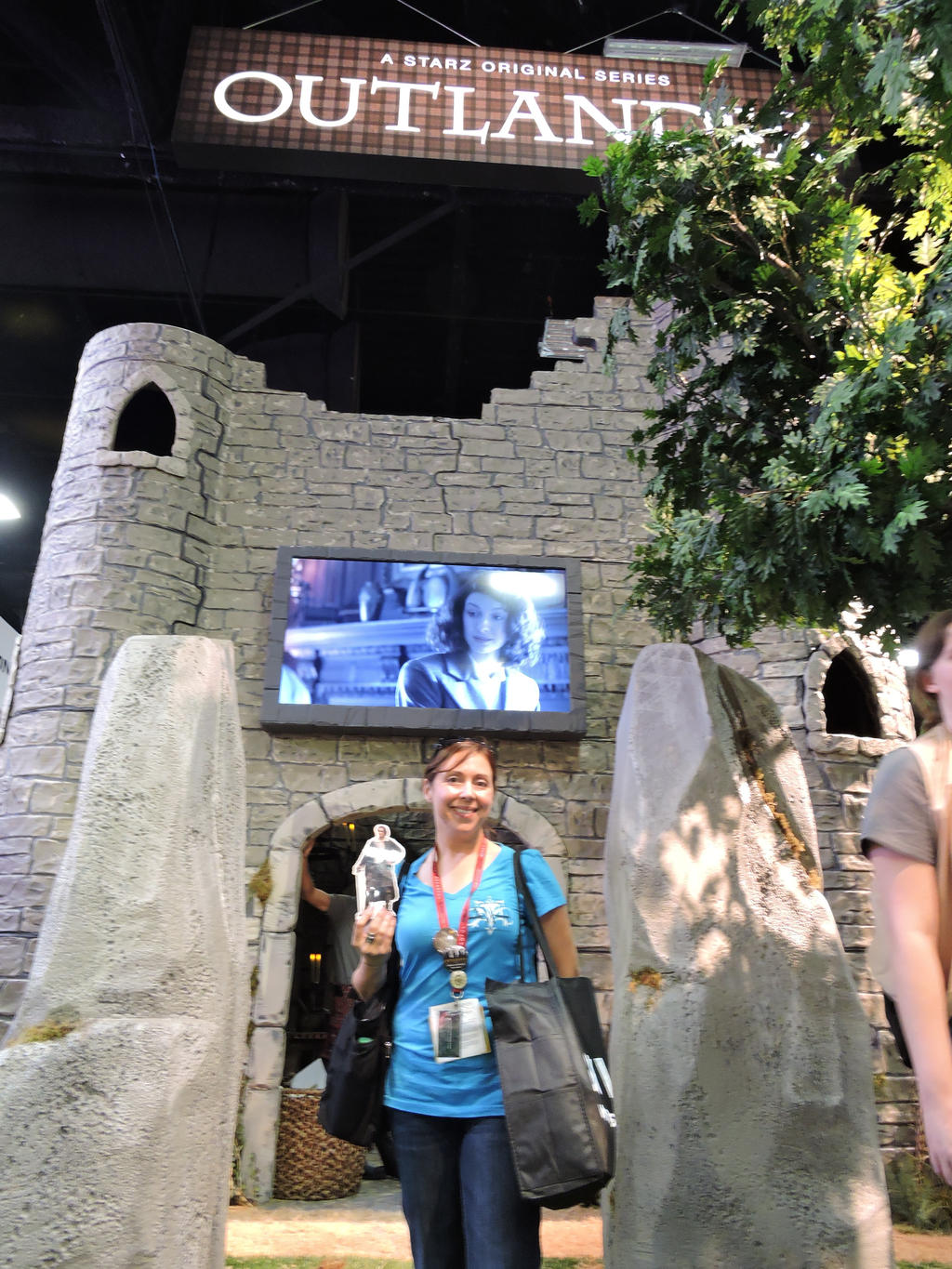 Outlander Booth SDCC by IreneAdler76