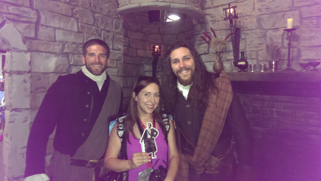 Myself, #PJ and some Highlanders SDCC by IreneAdler76