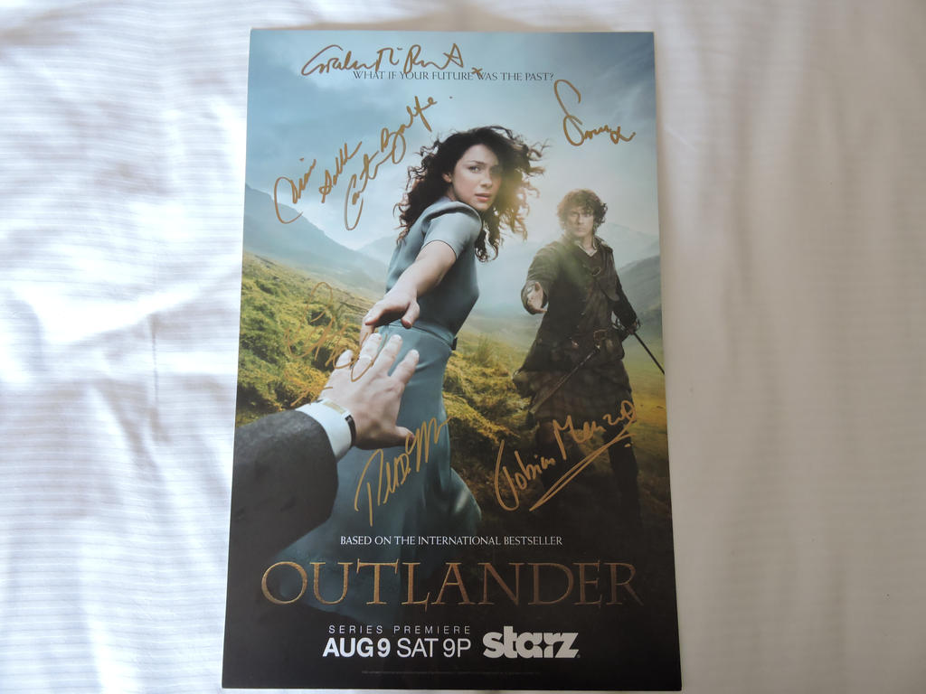 Signed SDCC Poster by IreneAdler76