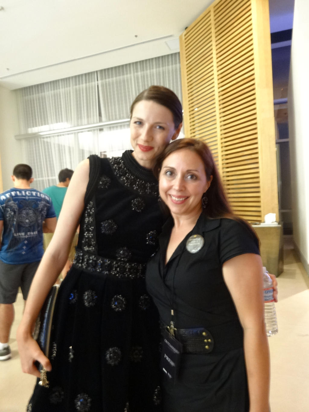 Caitriona Balfe and Myself by IreneAdler76