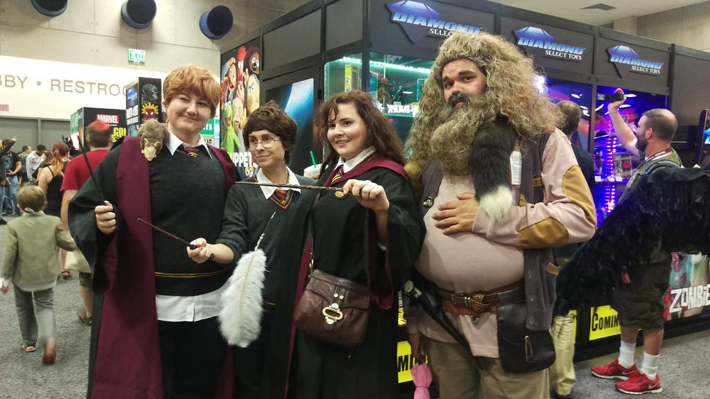 Hogwarts Crew by IreneAdler76