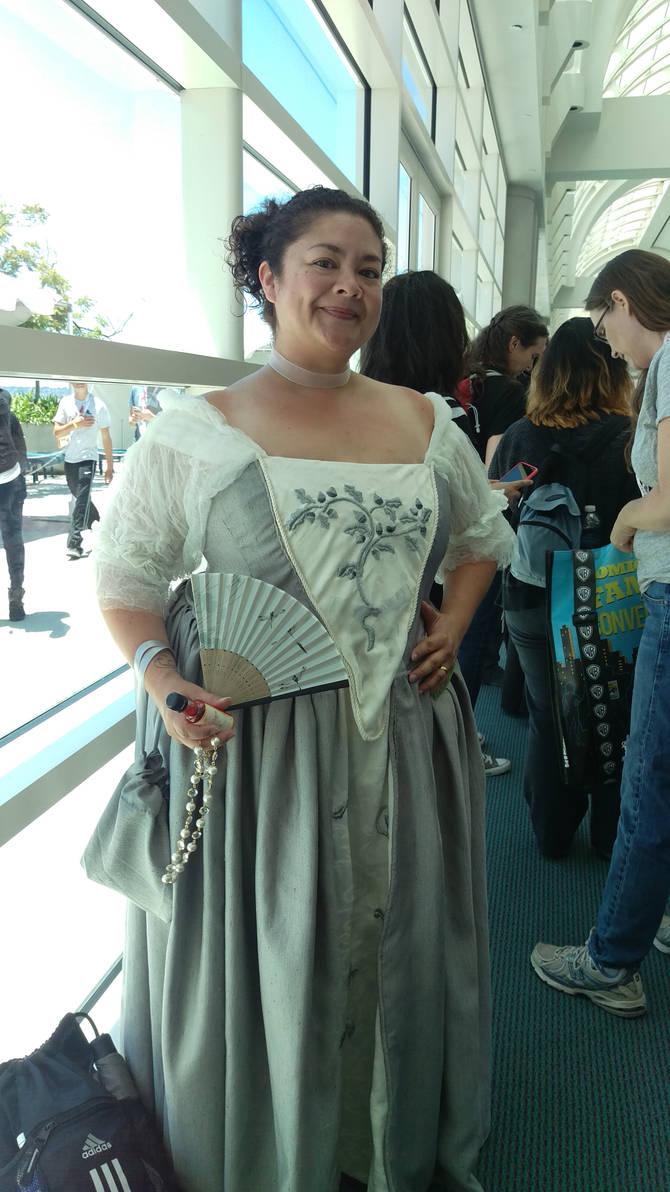Claire's Wedding Dress #Outlander by IreneAdler76