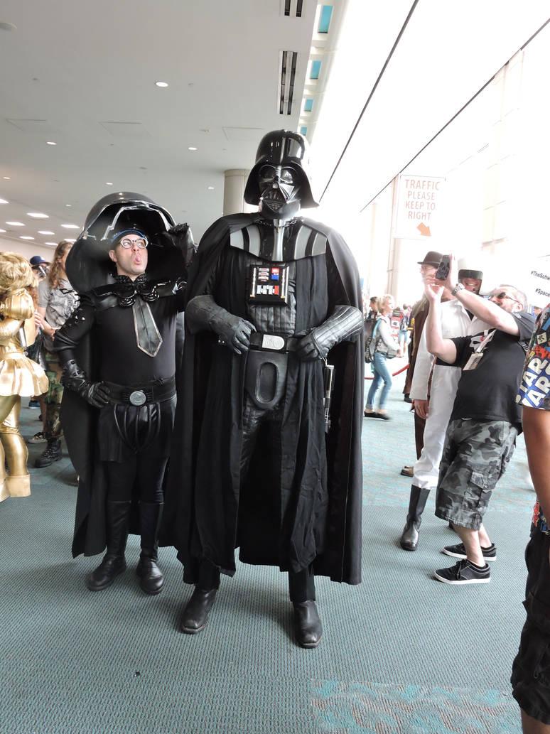 Vader, behind you by IreneAdler76