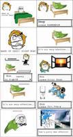Lazy son Pokemon battle