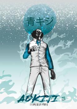 Fanart Aokiji -- Japan Arts Rivals serie1
