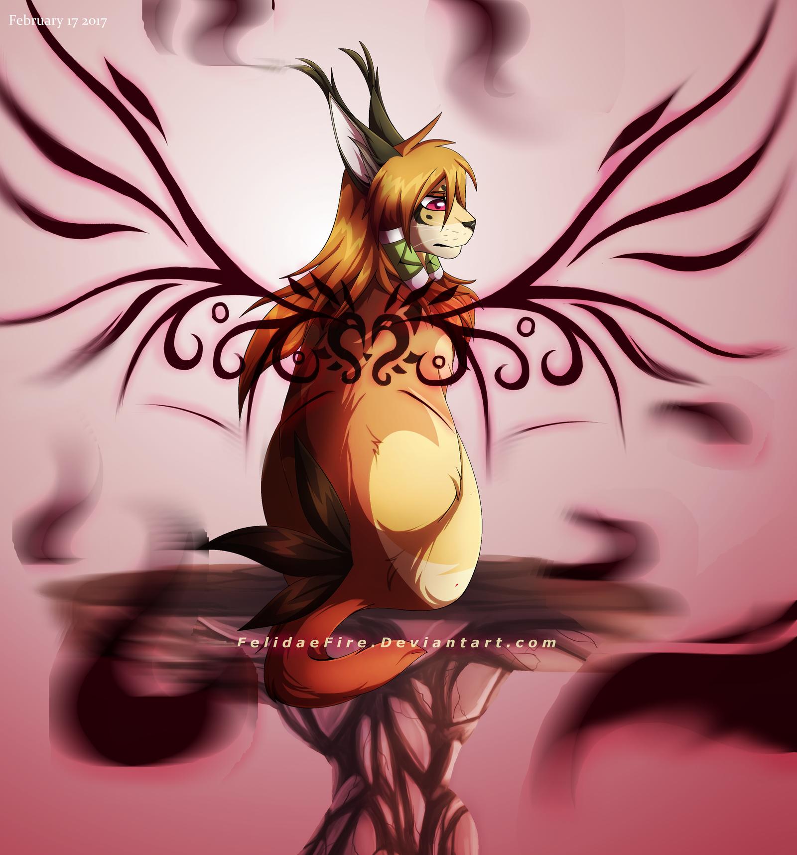 Silent Wings by FelidaeFire