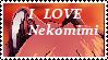 I Love Neko Stamp by FelidaeFire