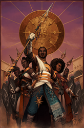 Tyrian Tarot - The Sunspears by sockpoppet