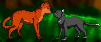 Fireheart and Cinderpaw by wolfstalkerXphonia on DeviantArtFireheart And Cinderpaw