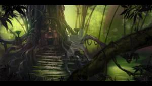 Digital Concept (Jungle Ruins)