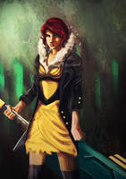 Transistor - Fan art by 8akina