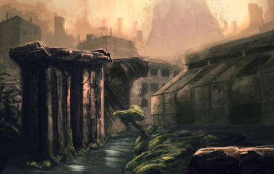 Background - City by 8akina