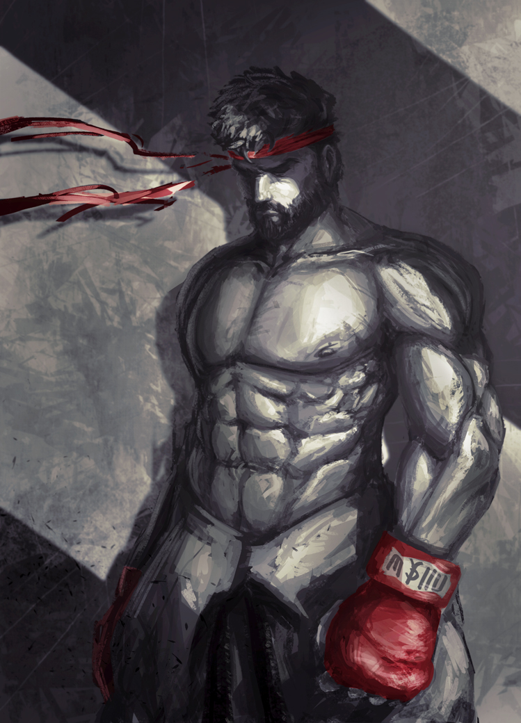 Street Fighter Fanart Ryu By 8akina On Deviantart