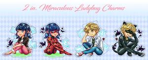 Miraculous Ladybug Charms