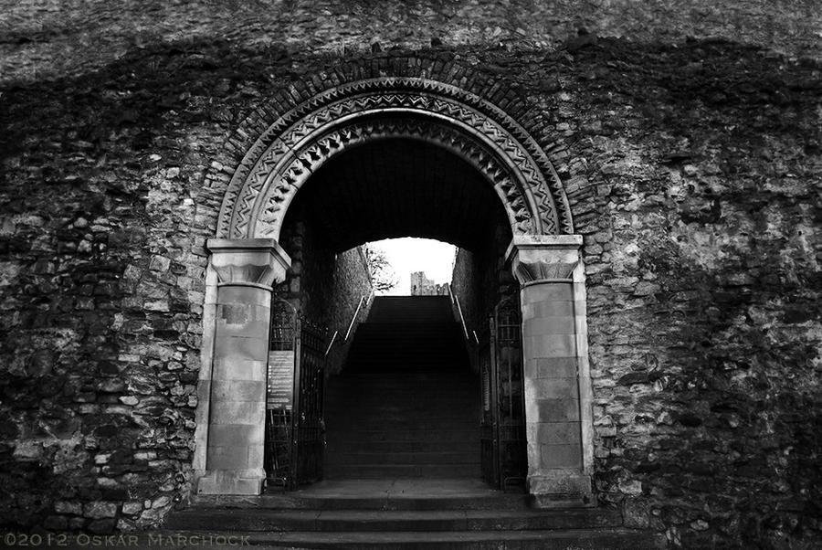 Gothic Stone Archway By Digitaloskar