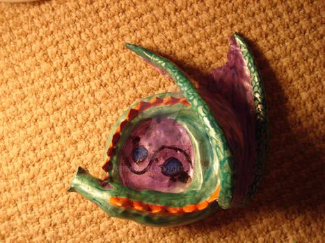 Dragon ashtray 3
