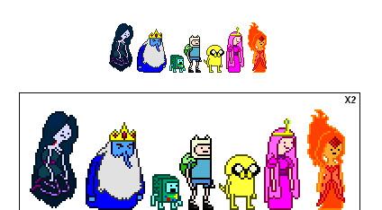 Adventure Time Sprites v2 by jugito08