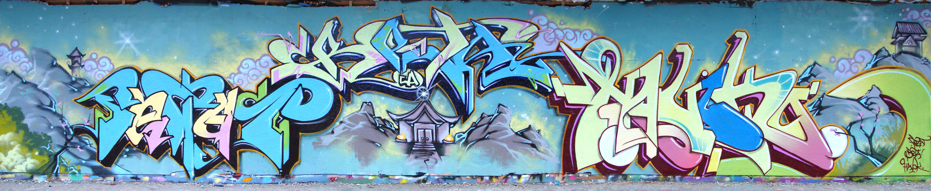 the apes at charlevoix wall by MrHavok