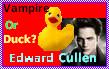 Vampire or duck? stamp by PotatoBurger