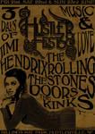 Hustlerfest '68 Poster Brown