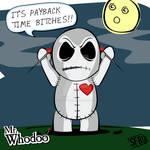 Mr. Whodoo Losing His Temper
