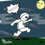Mr. Whodoo The Little Voodoo having a bad day