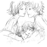 SasoSaku with kids by Gigicerisier
