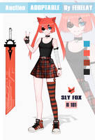 ADOPT AUCTION (OPEN) Sly Fox 101 by FERELAY