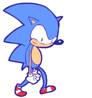 Dumb Silly Sonic by Platynews