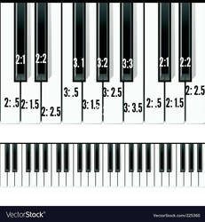 How I visualize the keyboard.