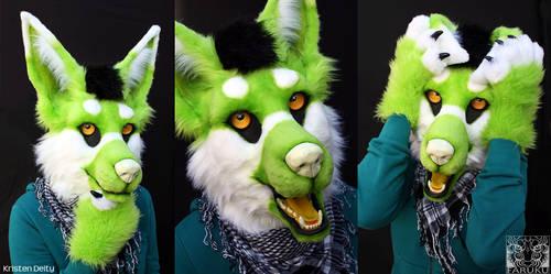 KristenDeity - Fursuit Head