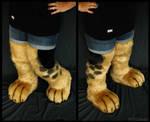 German-shepherd feet+legs