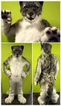 Cosmo Snowleopard (fullsuit) by FarukuCostumes