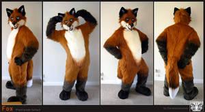 Fox fullsuit by FarukuCostumes