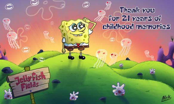 Spongebob 21 years [Commission]
