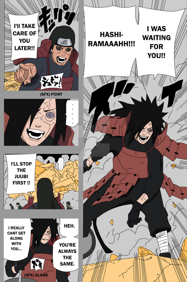 Naruto Manga 631 Color Page by amazingred212 on DeviantArt