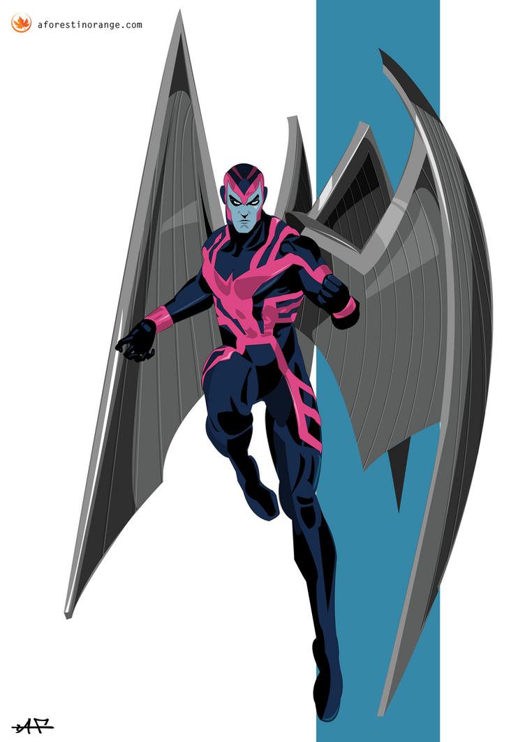 Archangel (X-Men) by FeydRautha81 on DeviantArt X Men Archangel Drawings
