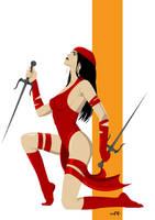 Elektra (Commission) by FeydRautha81
