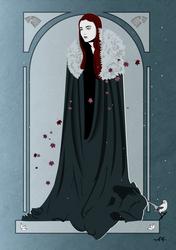 Sansa Stark (nouveau) by FeydRautha81