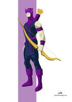 Hawkeye (Marvel) by FeydRautha81