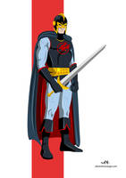 Black Knight (Marvel) by FeydRautha81