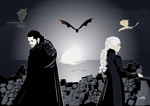 Daenerys and Jon